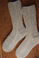 Baroque socks