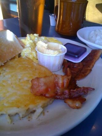Breakfast at CKs Diner, Memphis, Tenn.