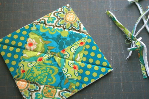 potholder step 4