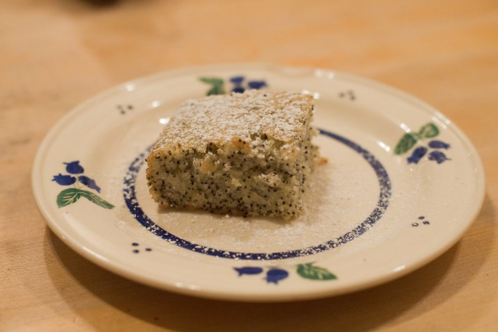 January 21, 2010 - Lemon Poppyseed Cake