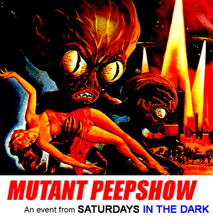 MUTANT PEEPSHOW Lobby Card for Live Nude Mutants