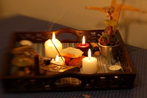 altar via lensbaby