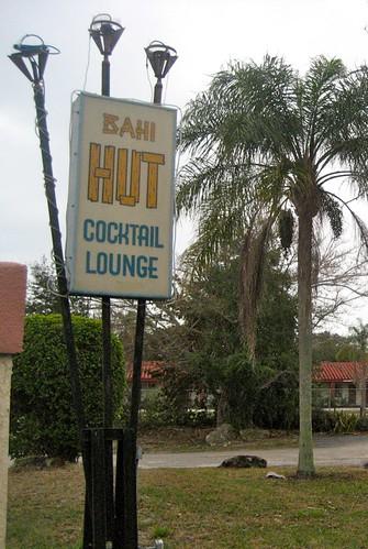 Bahi Hut Roadsign