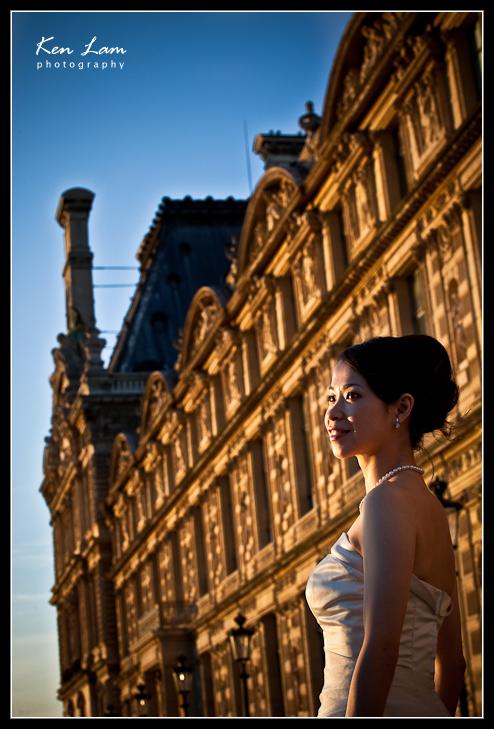 Horatio & Kennis - Pre-wedding in Paris