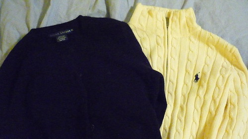 $15 cardigans from RL