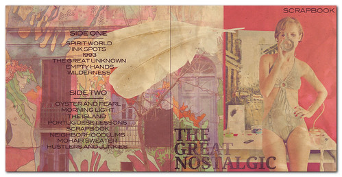 The Great Nostalgic Vinyl Cover Art Mockup