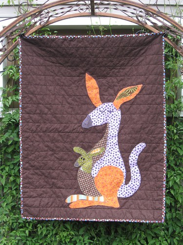 Kangaroo quilt
