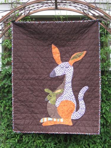 Baby Reece's Kangaroo Quilt (1/3)