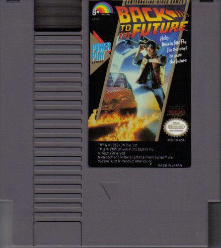 BTTF NES game