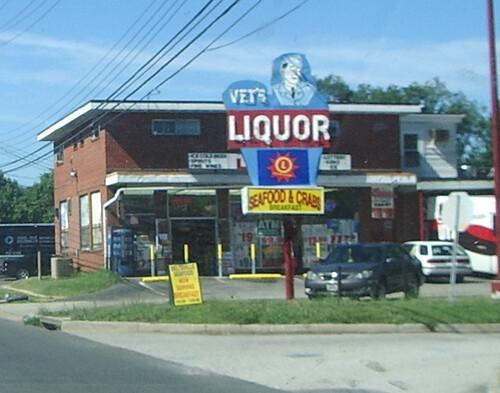 Vet's Liquor, Route 1