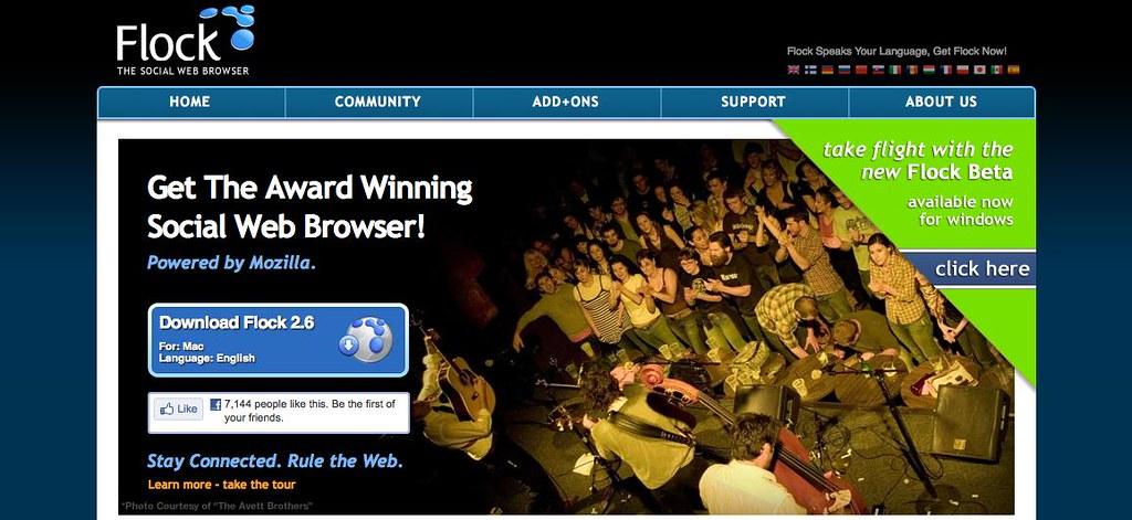 Flock Web Browser