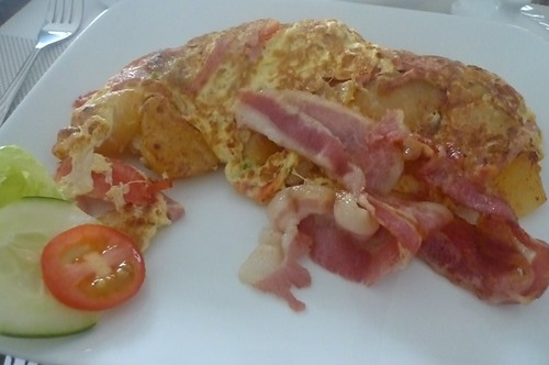 Breakfast @ BergBlick Restaurant, Pagudpud