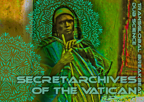 Secret Archives publicity artwork