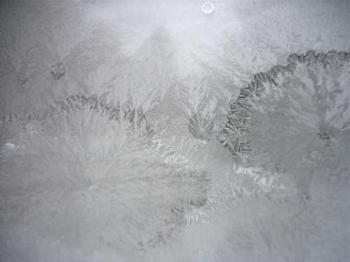 frost on windows