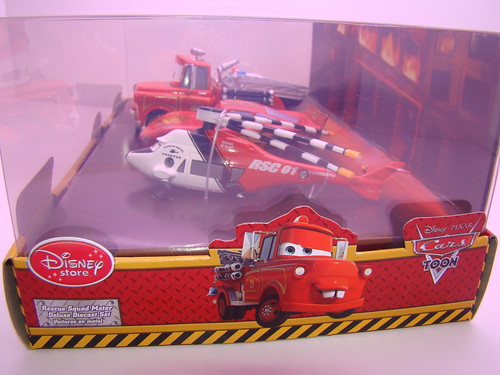disney store CARS rescue squad mater 4 pc set (5)