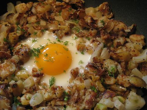 Fennel Potato Hash