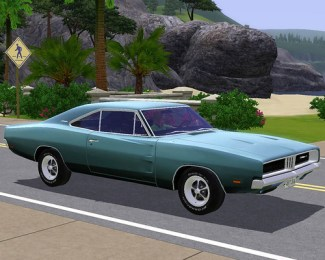 1969 Dodge Charger for The Sims 3 by Fresh Prince Creations!