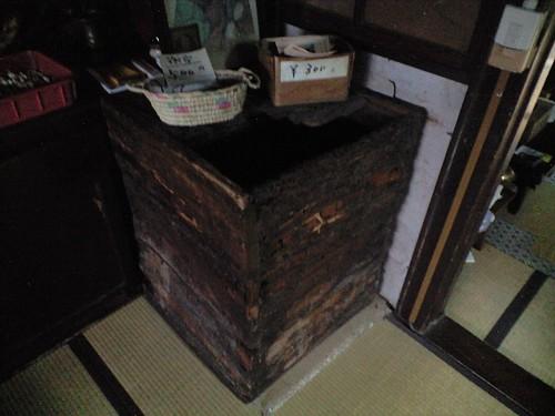 仏海上人が納められていた木棺