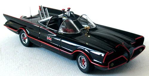 Batmobile Mattel