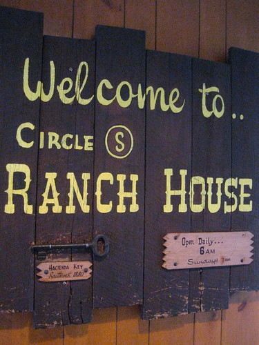 Welcome to the Circle S Ranch House