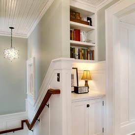 JAS Design Build stairwell star