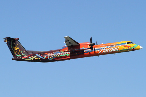 Horizon Air Bombardier DHC8-Q400(N425QX)