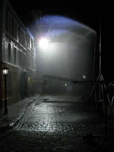 Rain bars and Technocrane