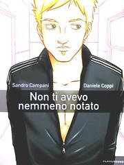 Non ti avevo nemmeno notato, di Sandro Campani (testo) e Daniele Coppi (disegni), Playground 2010; graphic designer: Federico Borghi , copertina (part.), 2