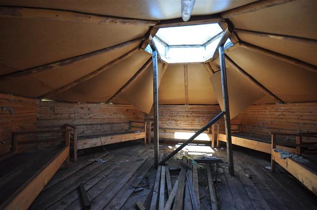 Abandoned tourist camp 2