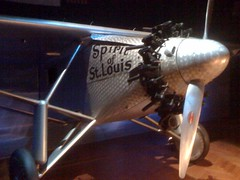 The Spirit of St Louis at the Ford Museum
