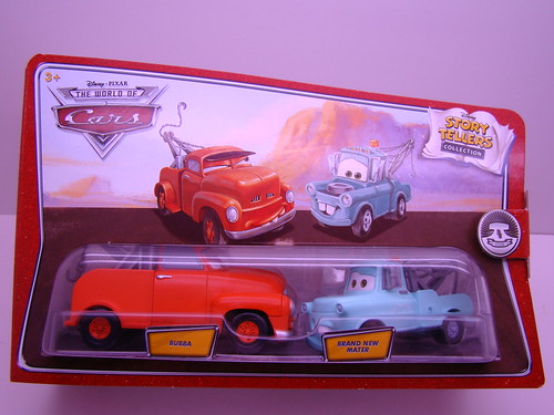 CARS Storytellers Bubba n new mater (1)