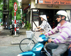 sharing the road (ho chi minh city)