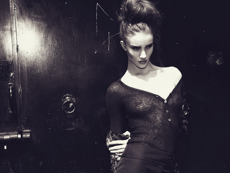 Rosie Huntington-Whiteley by Jonas Bresnan