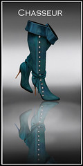 Chasseur Boots teal