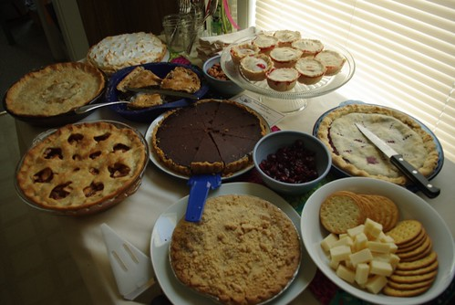 Seven People, Nine Pies