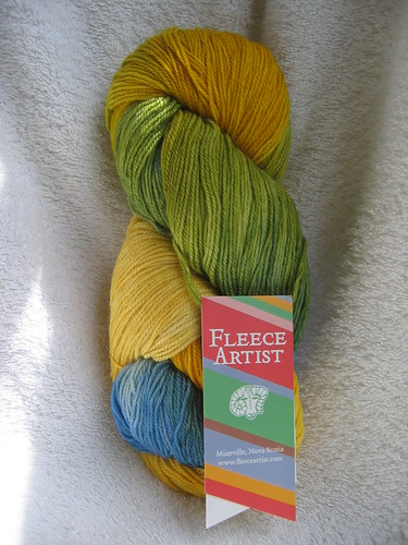May TLE Sock club yarn