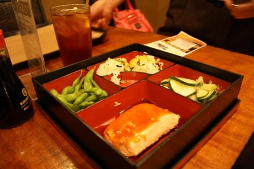 Teaism - Salmon Bento Box
