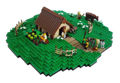 LEGO Anglo-Saxon Pit-House