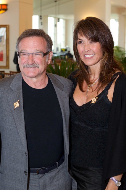 Robin Williams, Susan Schneider