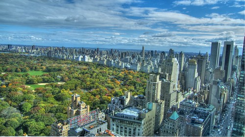 nyc fall foliage - central park