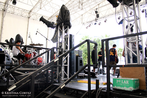Chicosci at Baybeats 2010 (Soundcheck)