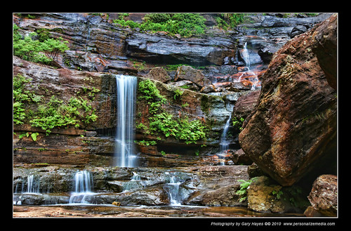 Blue Mountains waterfall Wentworth Falls