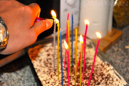 My Banoffee Pie slash Birthday Cake!