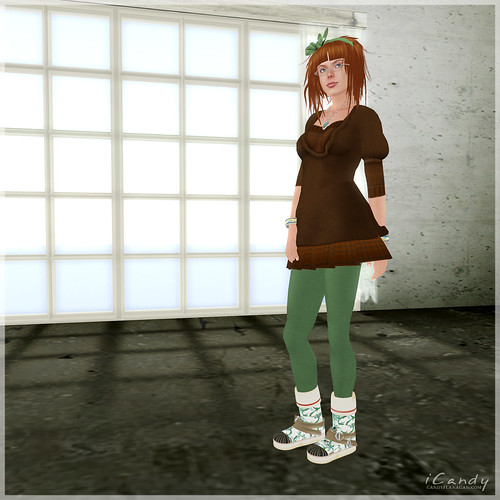 Fashionably Late - Green Girly