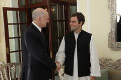 Συνάντηση με τον Γενικό Γραμματέα του Indian N...