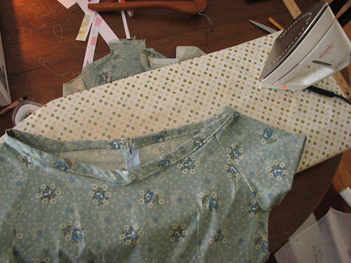 Wonky neck of new dress