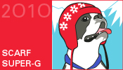 Ravelympics scarf super-g