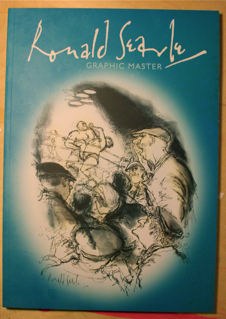 Ronald Searle - Graphic Master catalogue