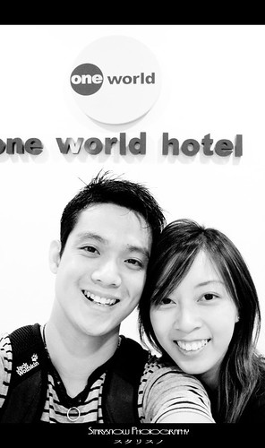 Us at One World Hotel