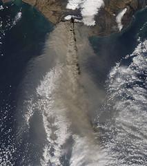 Eruption of Eyjafjallajökull Volcano, Iceland ...